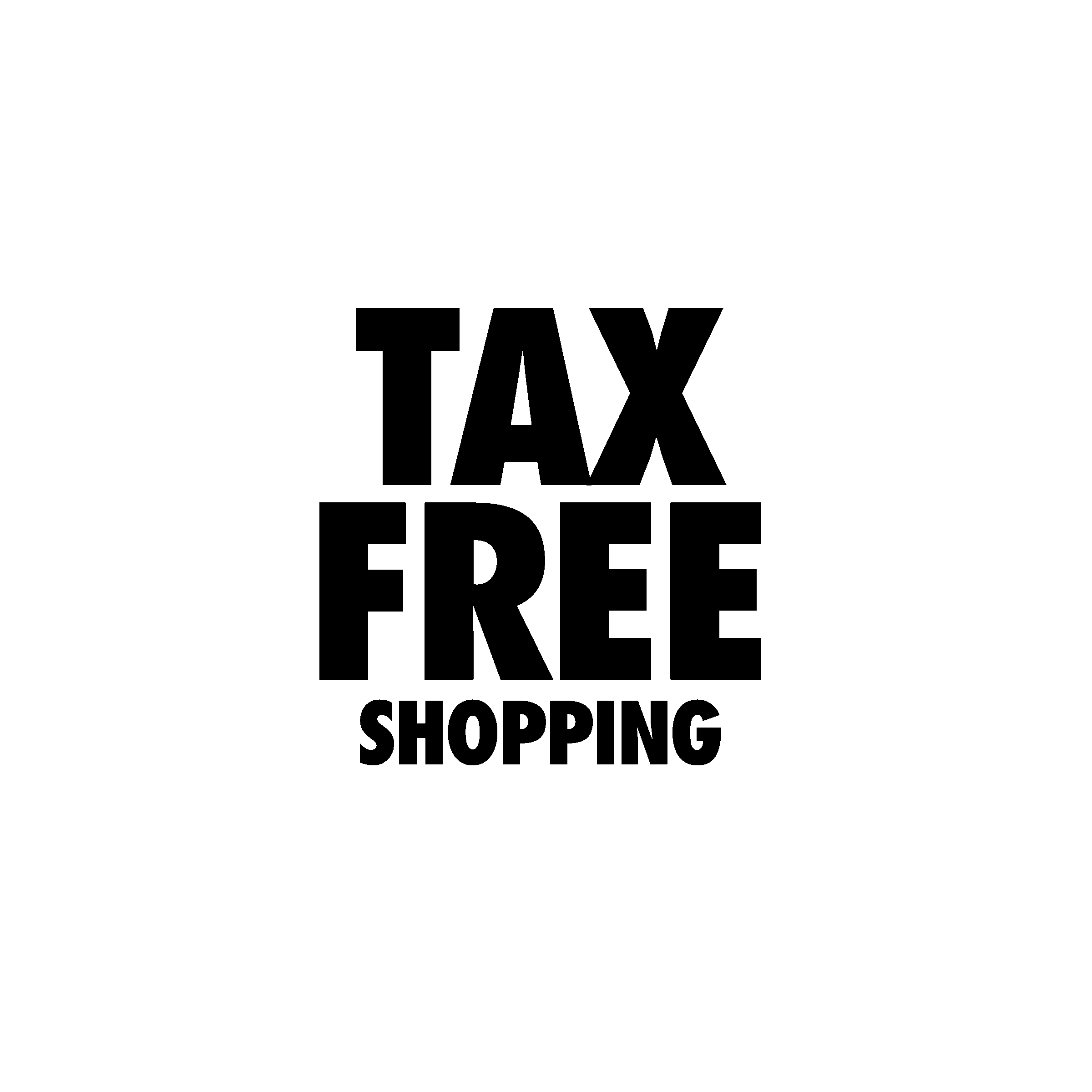 Tax Free Shopping Logo Png Transparent Svg Vector Freebie Supply