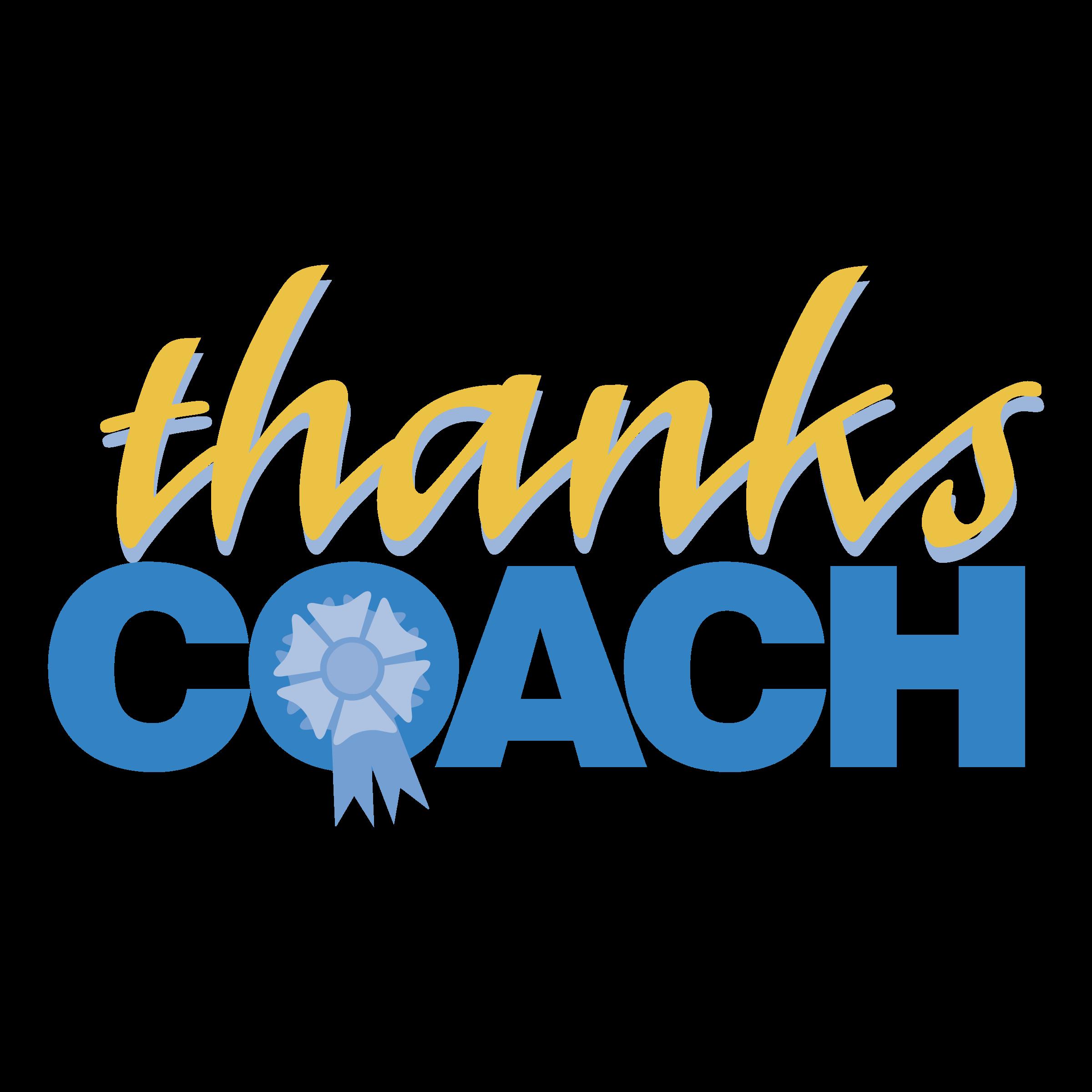 thanks coach logo png transparent svg vector freebie supply rh freebiesupply com