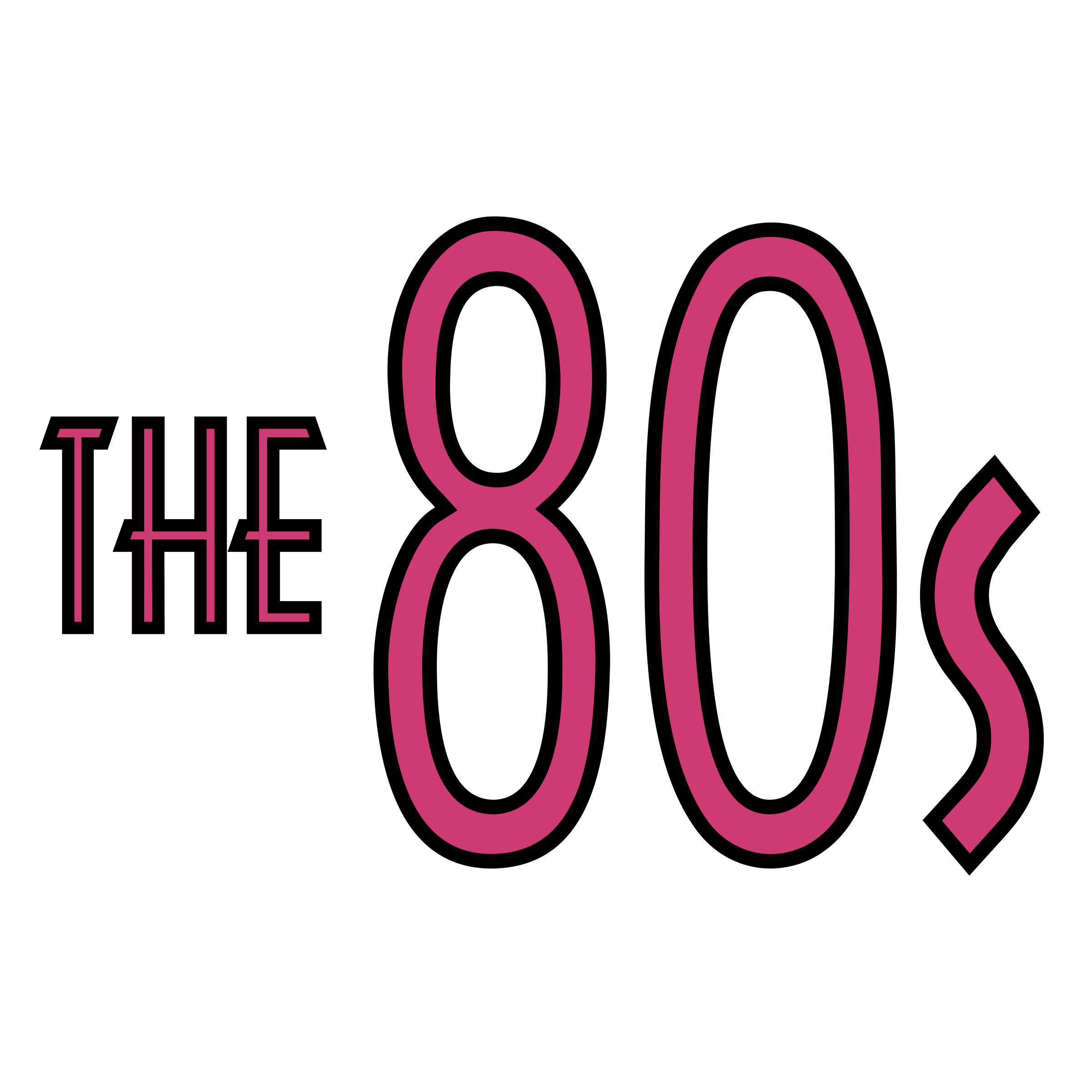 The 80's Logo PNG Transparent & SVG Vector - Freebie Supply