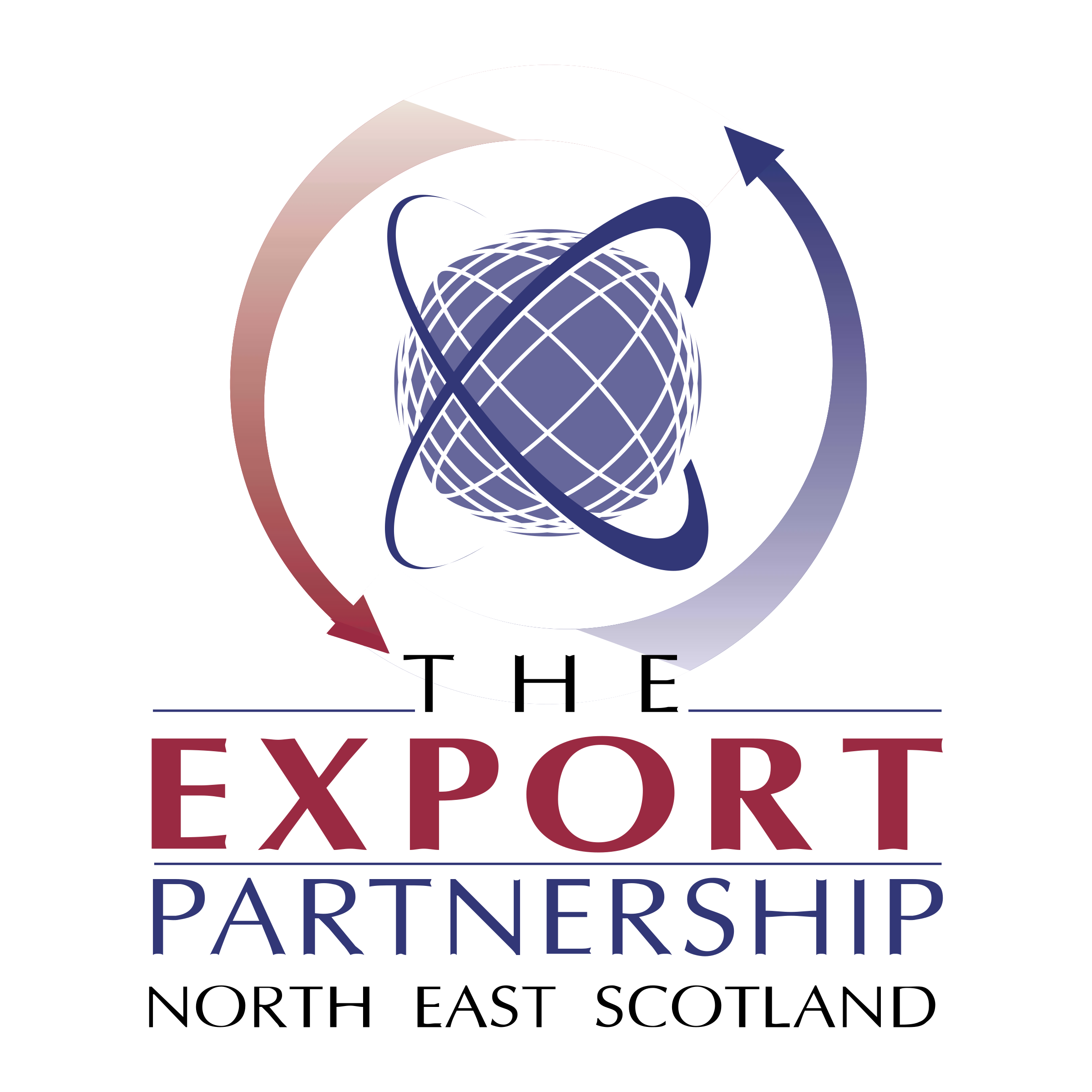 The Export Partnership Logo Black And White