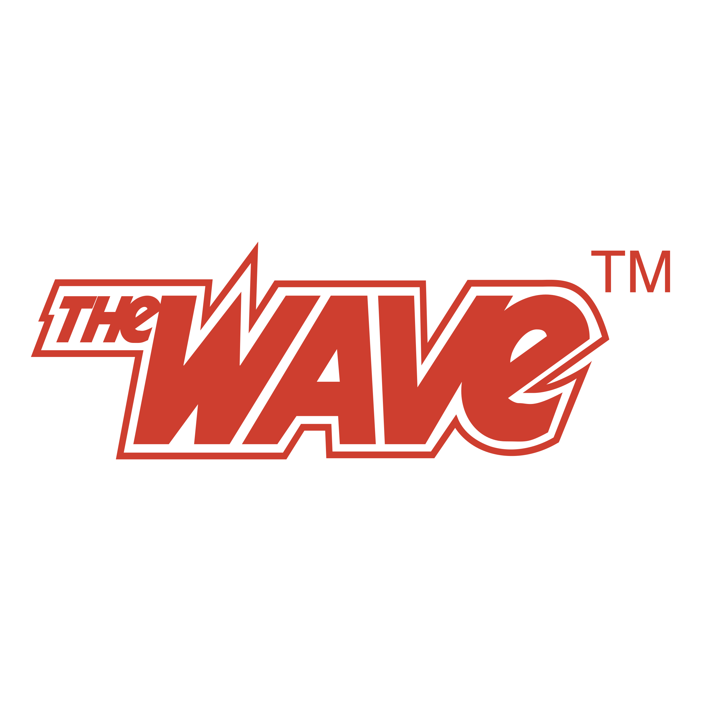 The Wave Logo PNG Transparent & SVG Vector - Freebie Supply