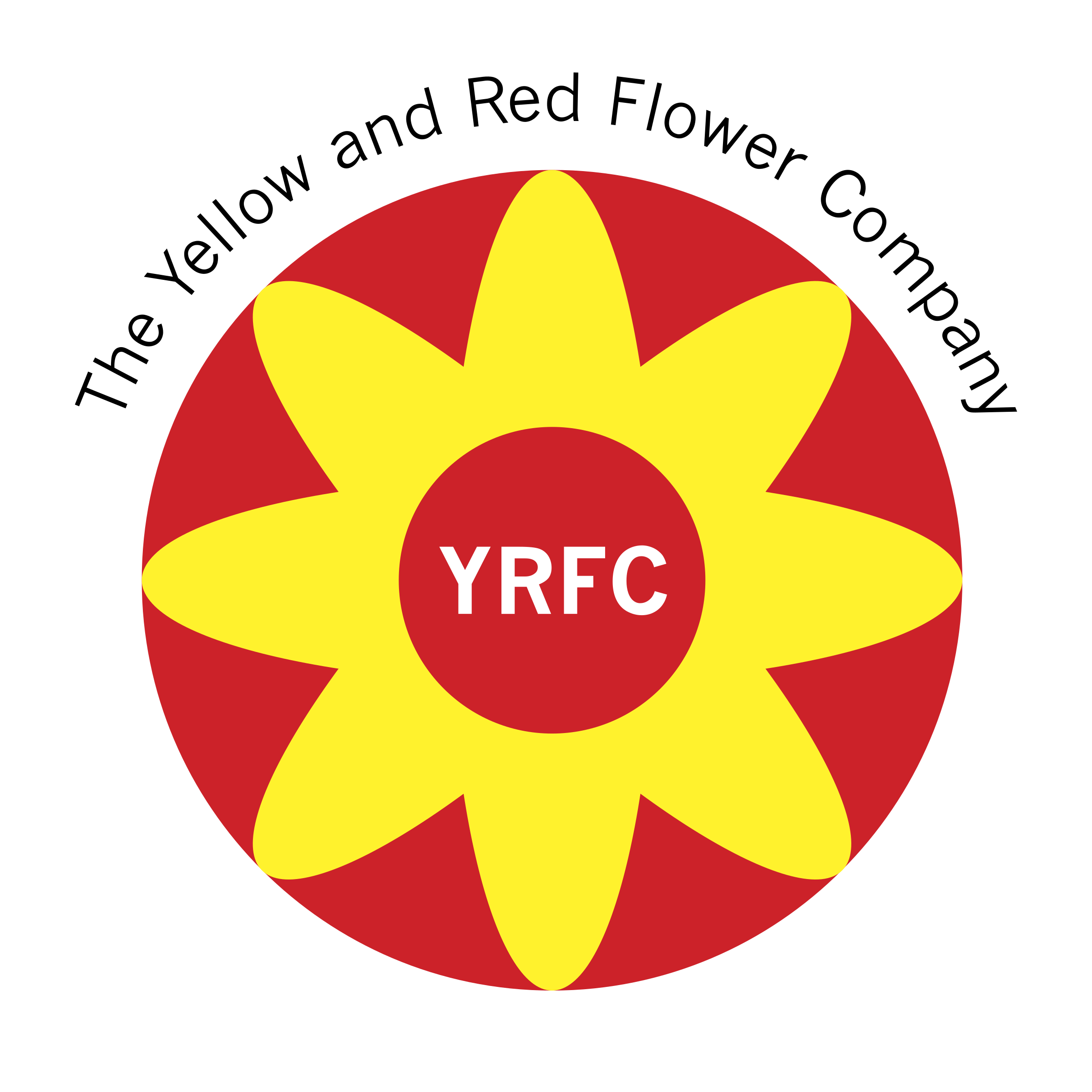 The Yellow And Red Flower Company Logo Png Transparent Svg Vector