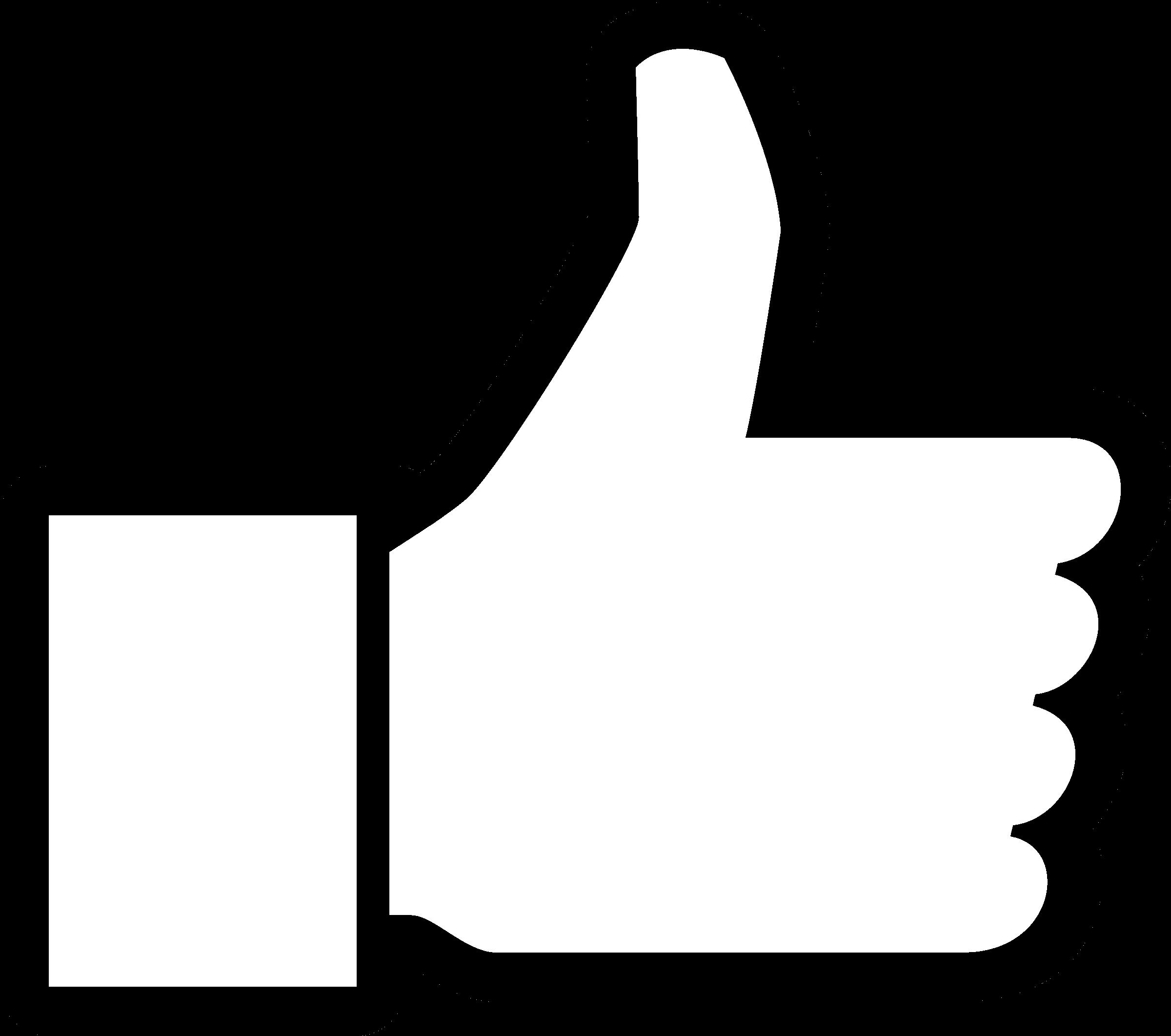 Thumbs Up Facebook Logo Png Transparent Svg Vector Freebie Supply