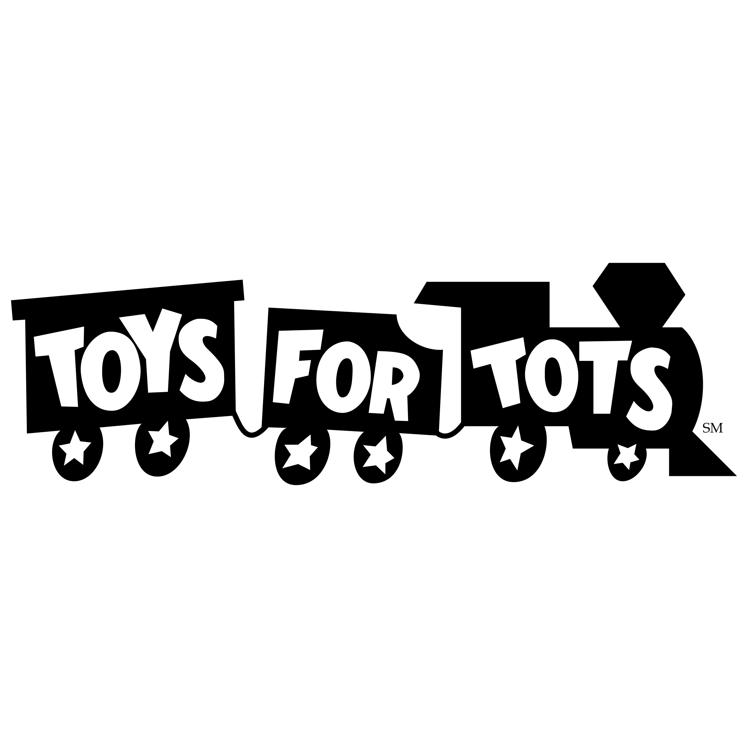 Black And White Toys For Tots : Toys for tots logo png transparent svg vector freebie