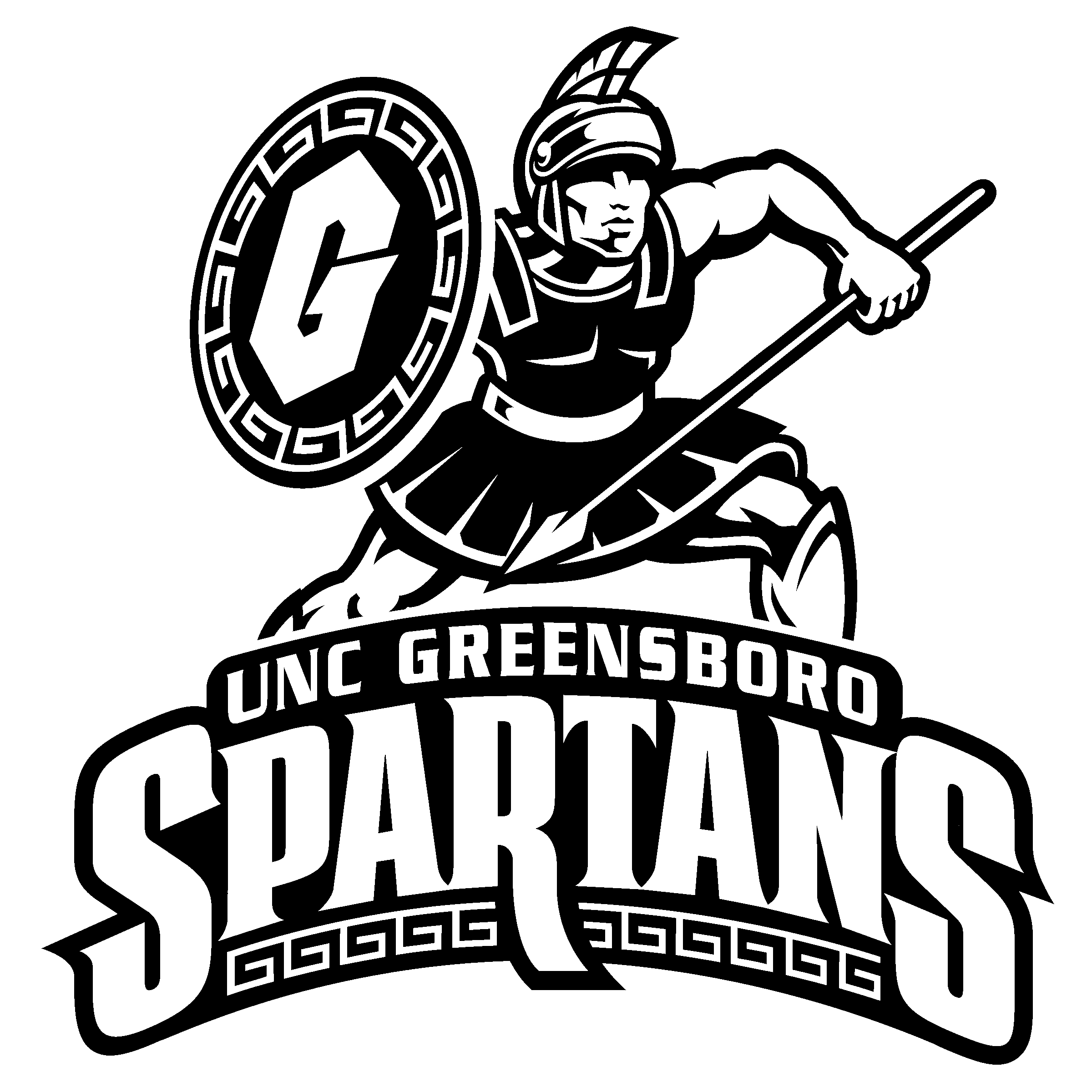 UNCG Spartans Logo PNG Transparent & SVG Vector - Freebie ...