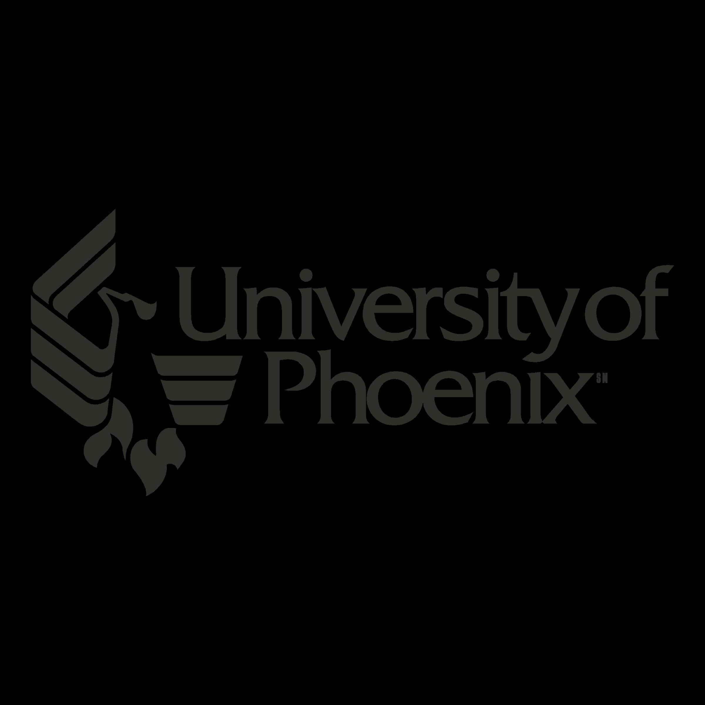 University Of Phoenix Logo PNG Transparent