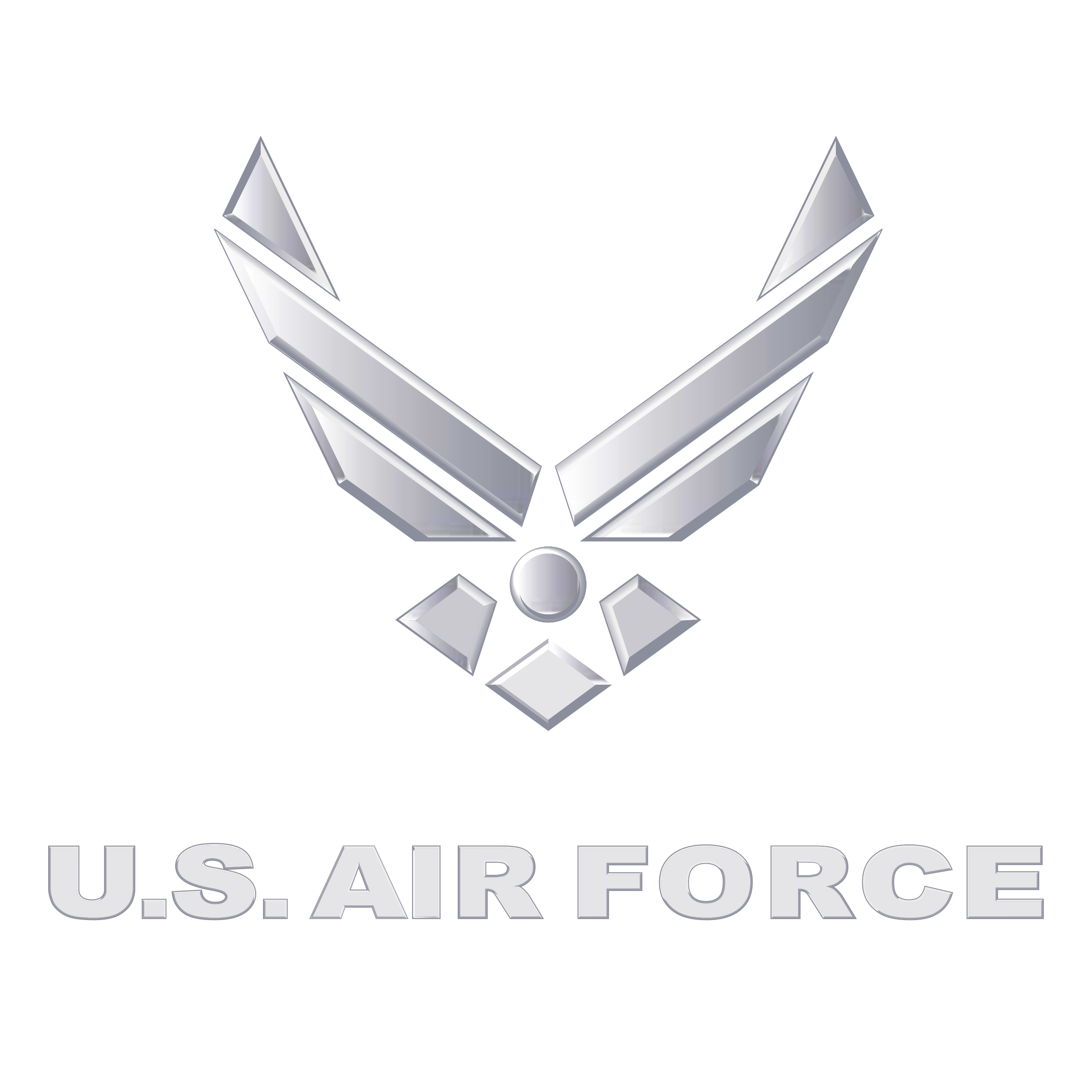 Us air force logo png transparent svg vector freebie supply us air force logo black and white voltagebd Images
