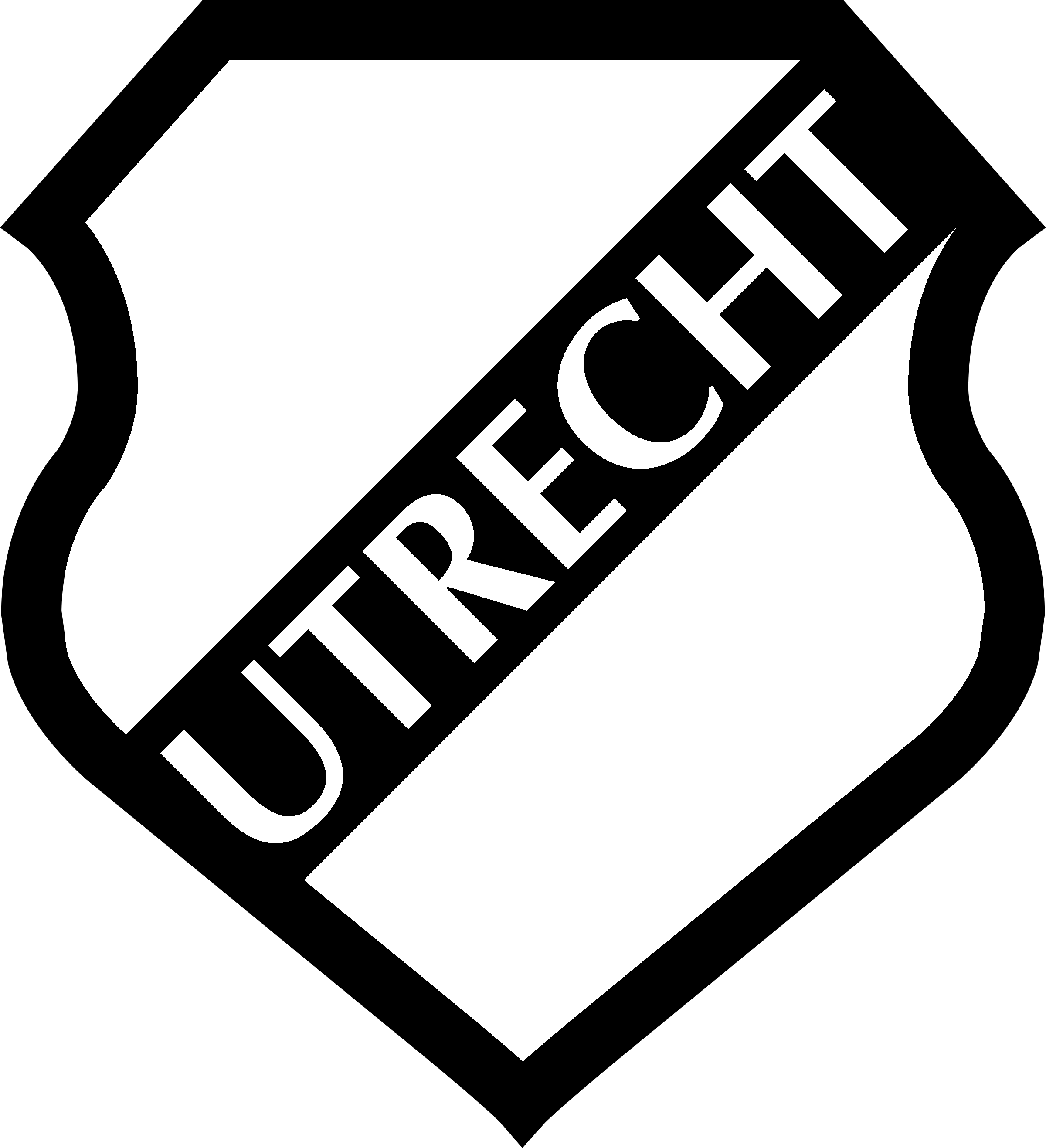 Utrecht logo png transparent svg vector freebie supply utrecht logo black and white toneelgroepblik Gallery