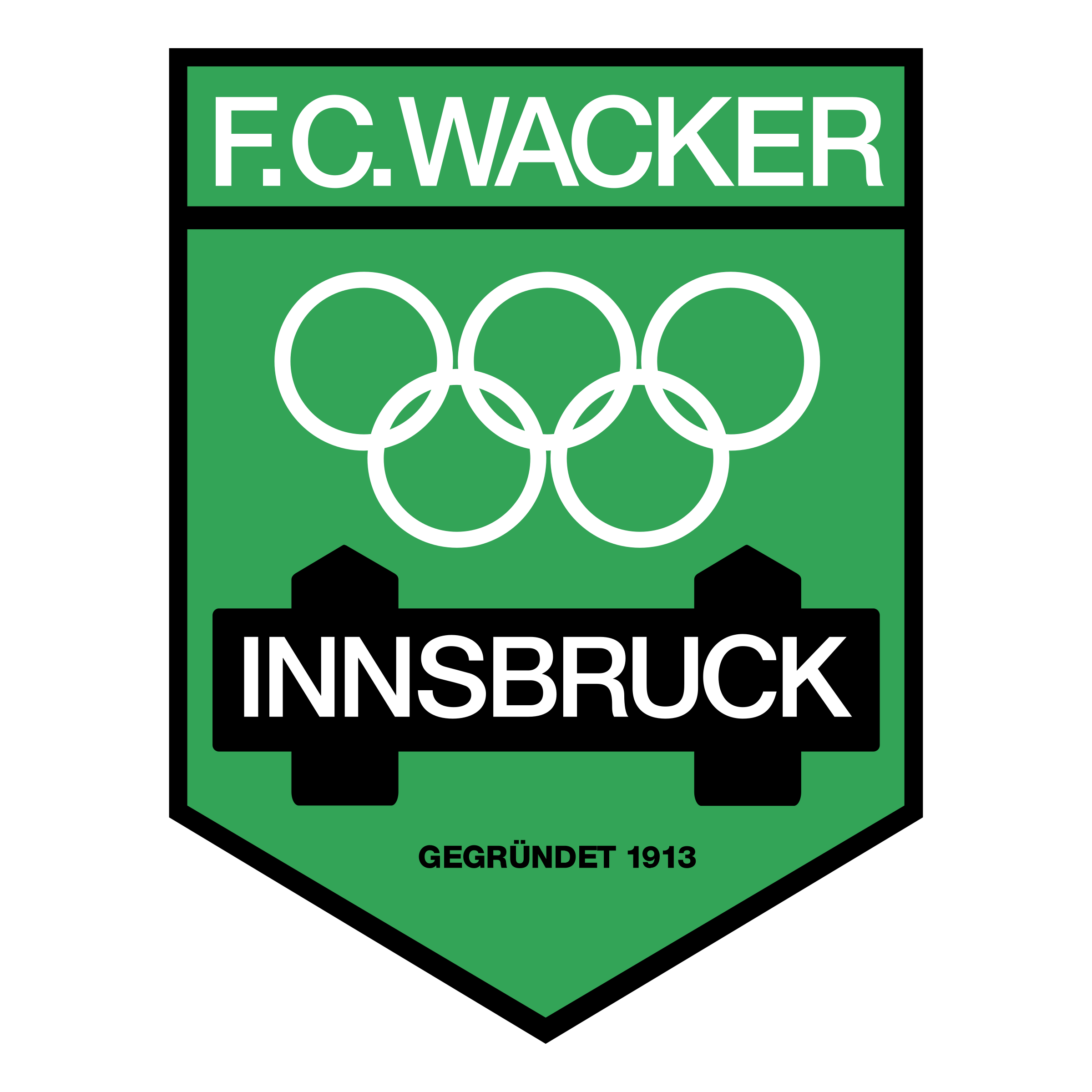 Wacker Innsbruck Logo Black And White