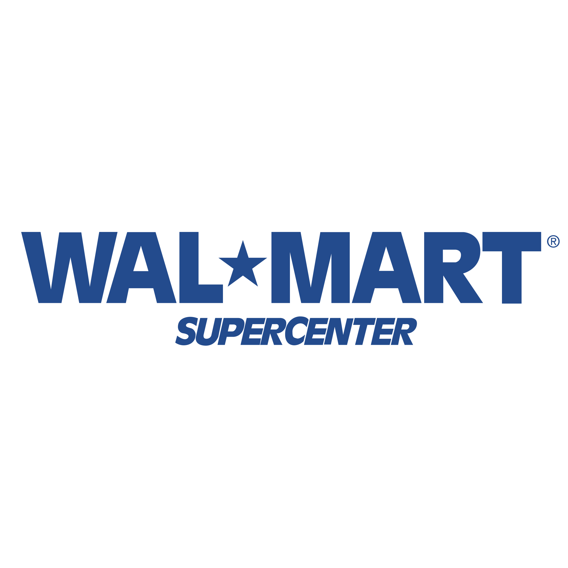Wal Mart Supercenter Logo PNG Transparent SVG Vector