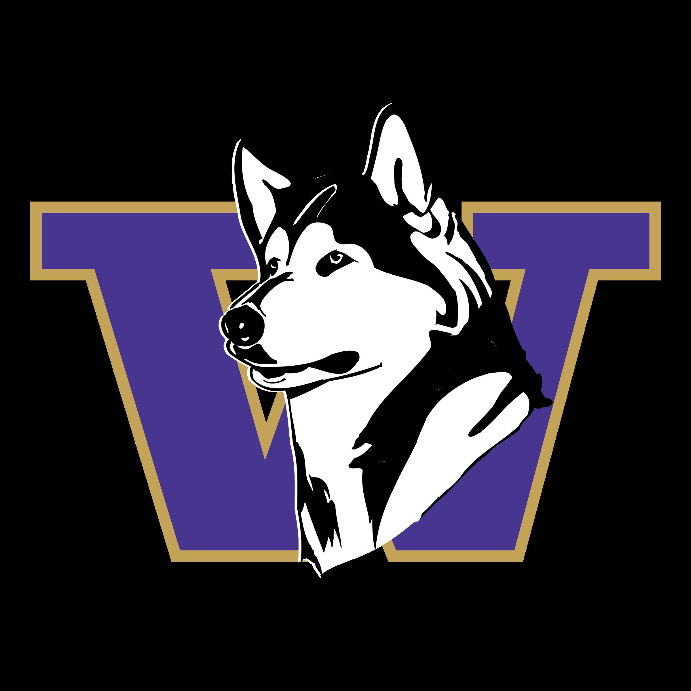 washington huskies logo png transparent svg vector freebie supply rh freebiesupply com husky logistics inc husky logo embroidery