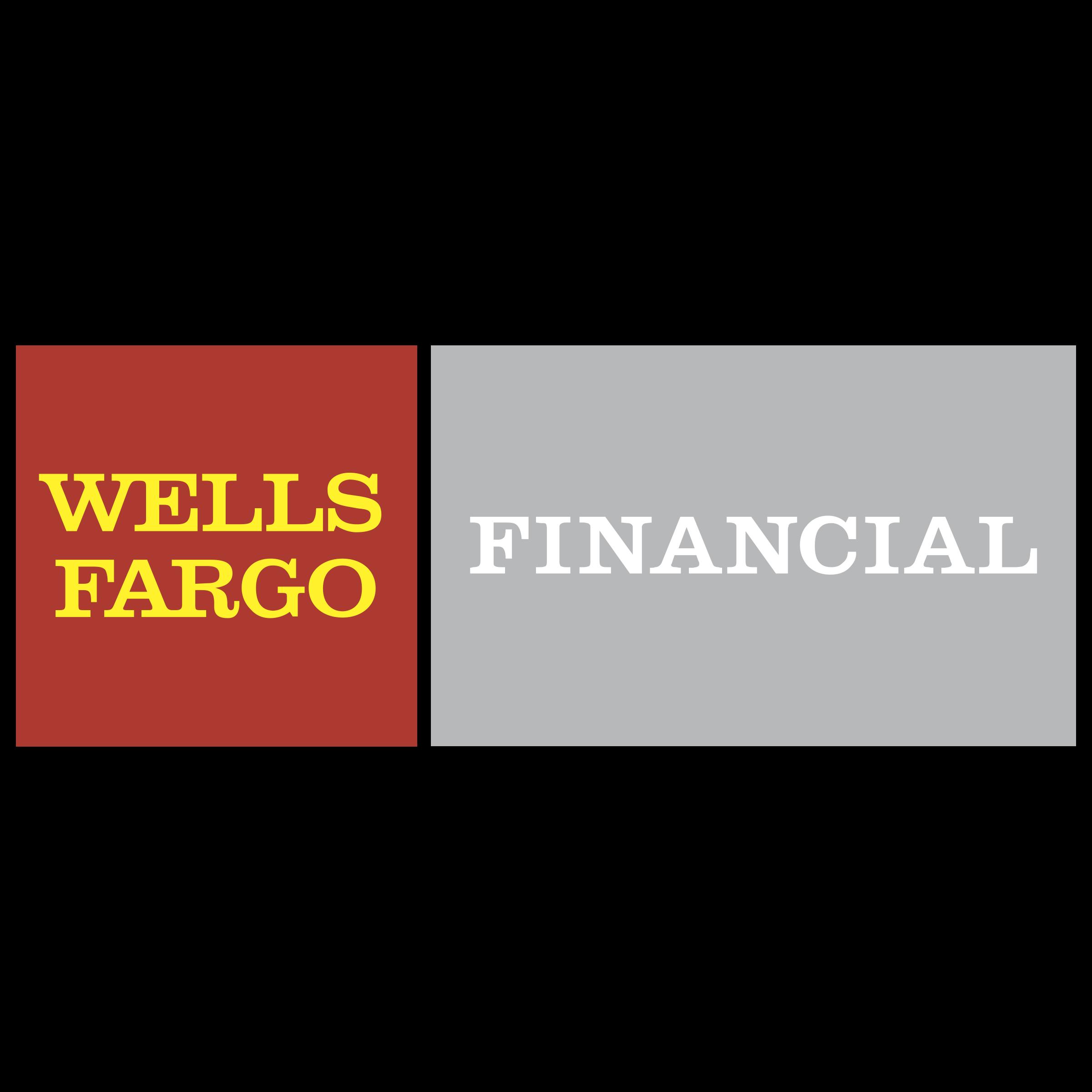 Wells Fargo Financial Logo PNG Transparent & SVG Vector - Freebie ...