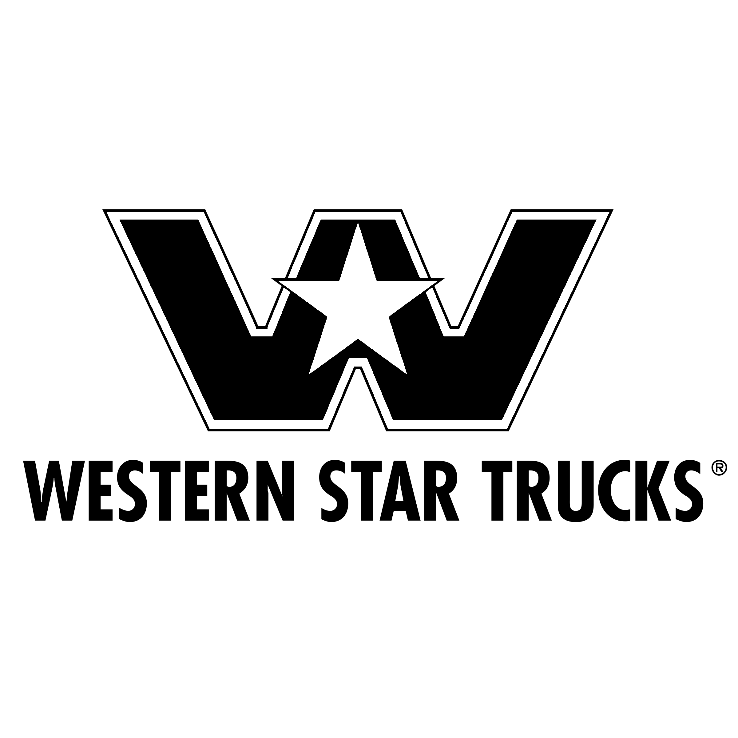 Western Star Trucks Logo Png Transparent Amp Svg Vector