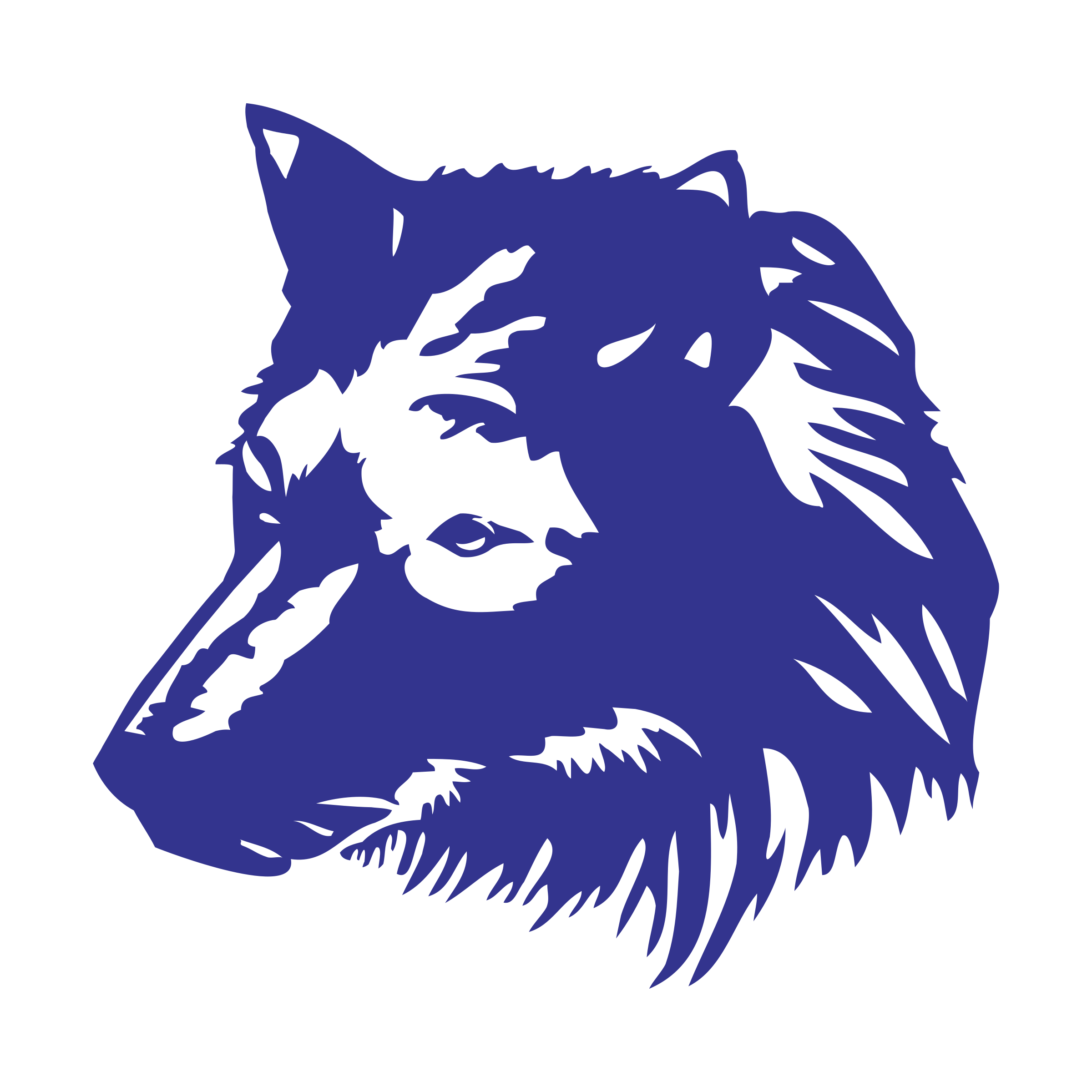Wolf 1 Wing Logo PNG Transparent & SVG Vector - Freebie Supply