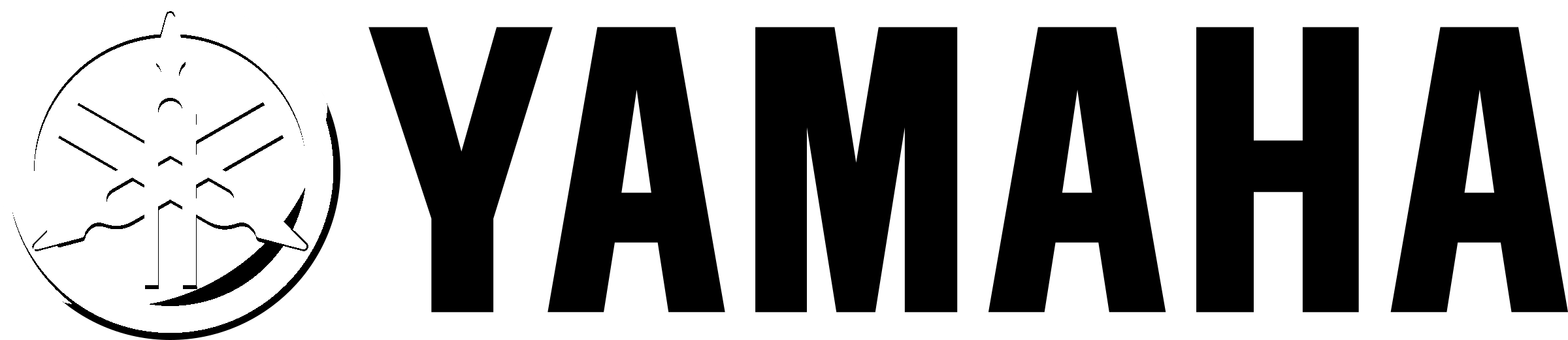 Yamaha Logo Black And White