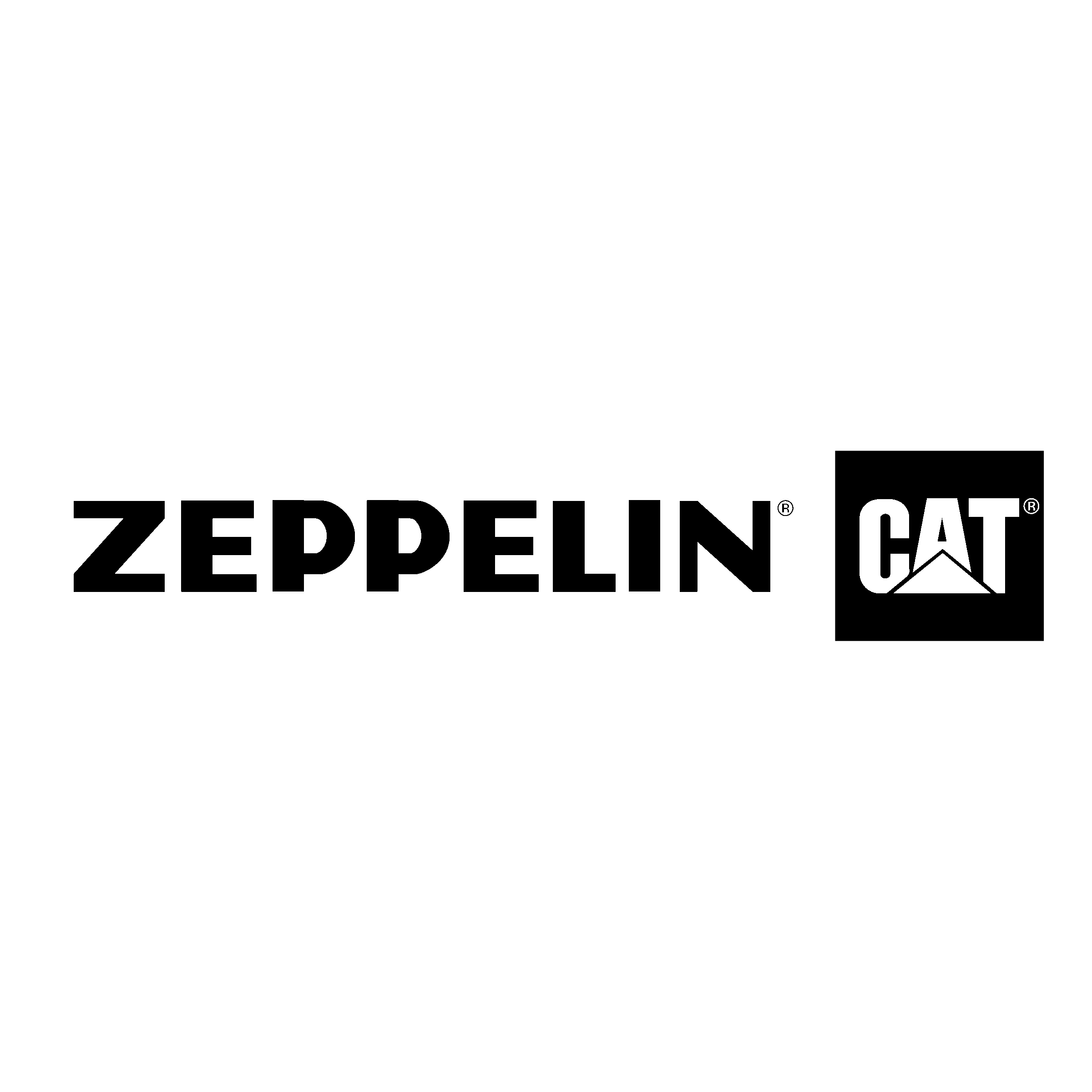 Zeppelin Caterpillar Logo Png Transparent Svg Vector Freebie Supply