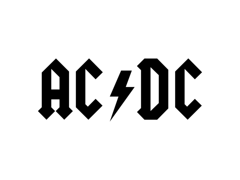 ac dc logo png transparent  u0026 svg vector