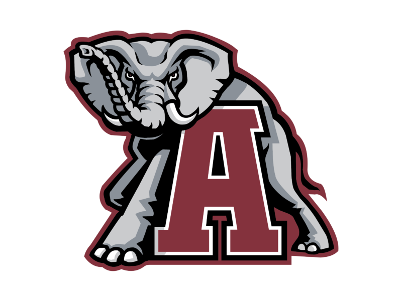 Alabama Crimson Tide 01 Logo PNG Transparent & SVG Vector