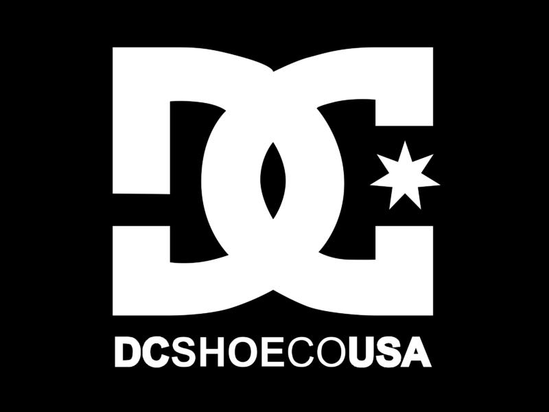 DC Shoe Co USA Logo PNG Transparent