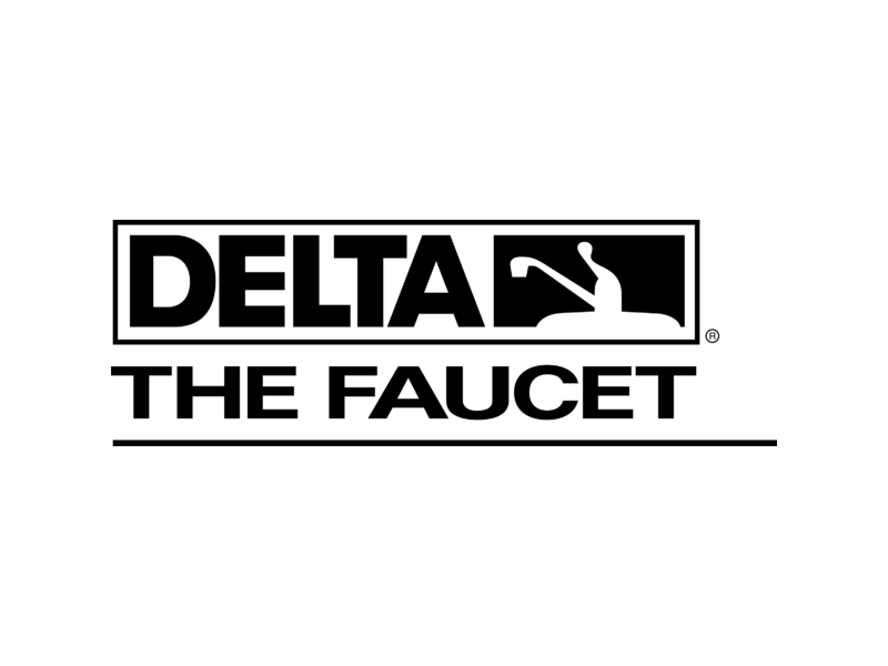 Delta Faucet 1 Logo PNG Transparent & SVG Vector - Freebie Supply