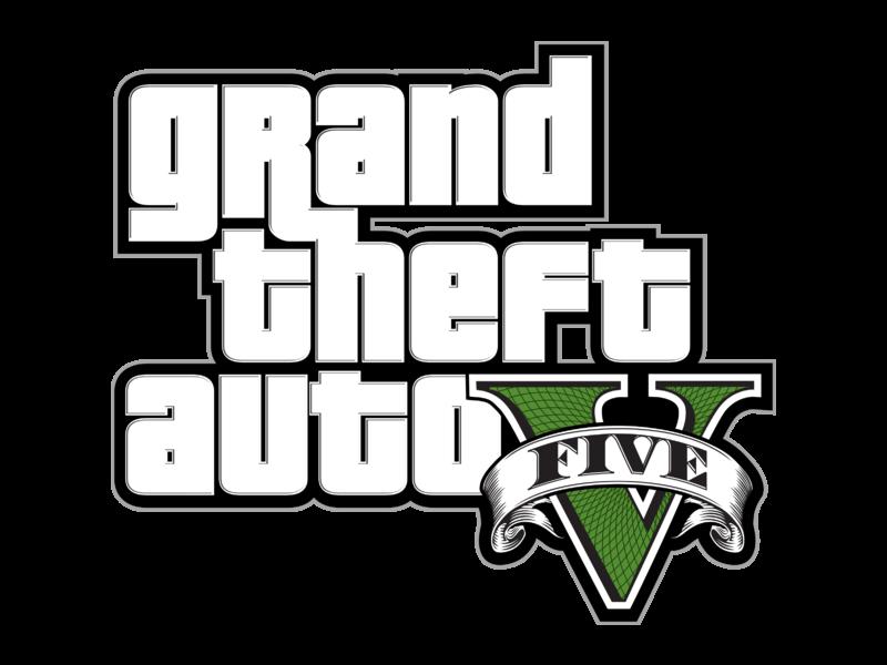 Grand Theft Auto V Logo PNG Transparent & SVG Vector