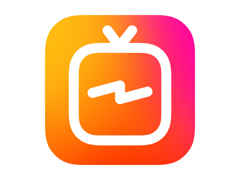 IGTV Logo Icon Transparent PNG PNG Transparent & SVG