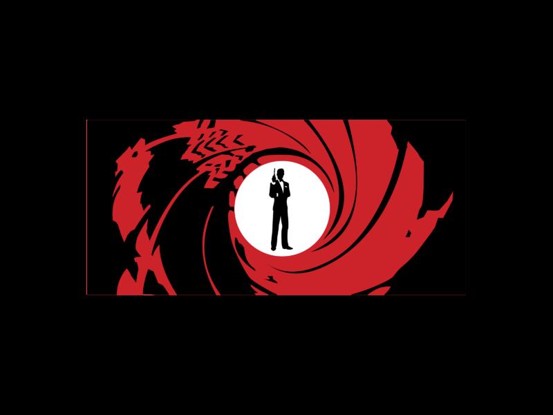 James Transparent Logo -  007 PNG Vector SVG Bond & Freebie