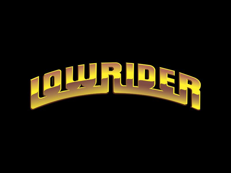 Lowrider Logo PNG Transparent & SVG Vector - Freebie Supply