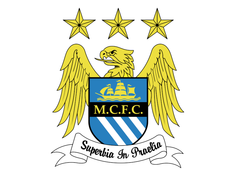 Manchester City FC Logo PNG Transparent & SVG Vector ...