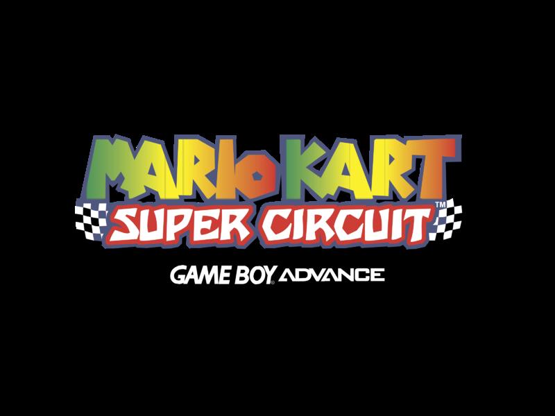 Mario Kart Super Circuit Logo PNG Transparent & SVG Vector