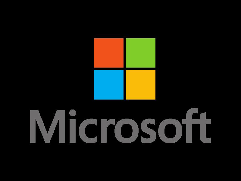Microsoft centered Logo PNG Transparent & SVG Vector ...