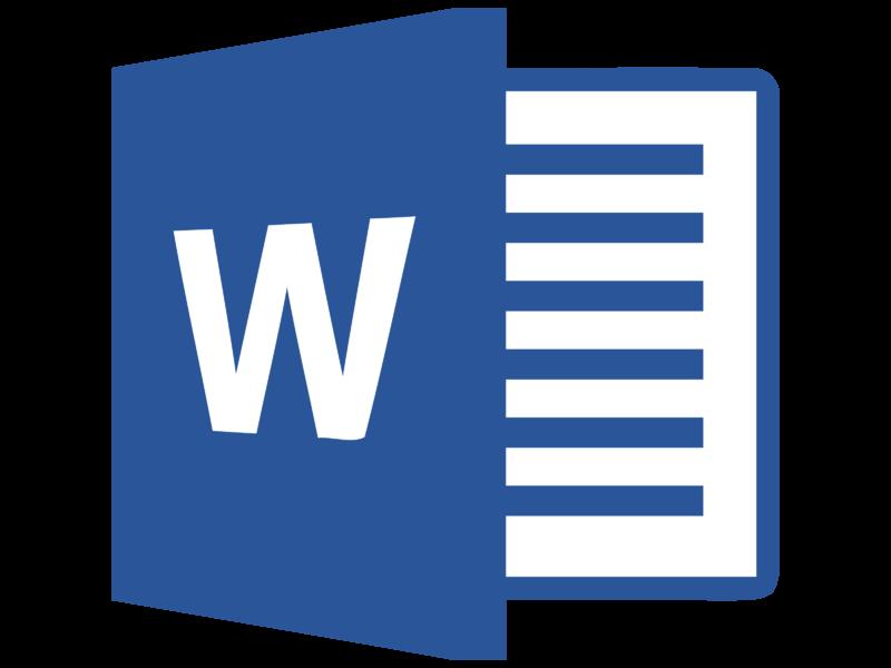 Microsoft Word 2013 Logo PNG Transparent & SVG Vector