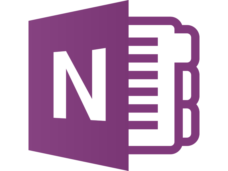 OneNote Icon Logo PNG Transparent & SVG Vector