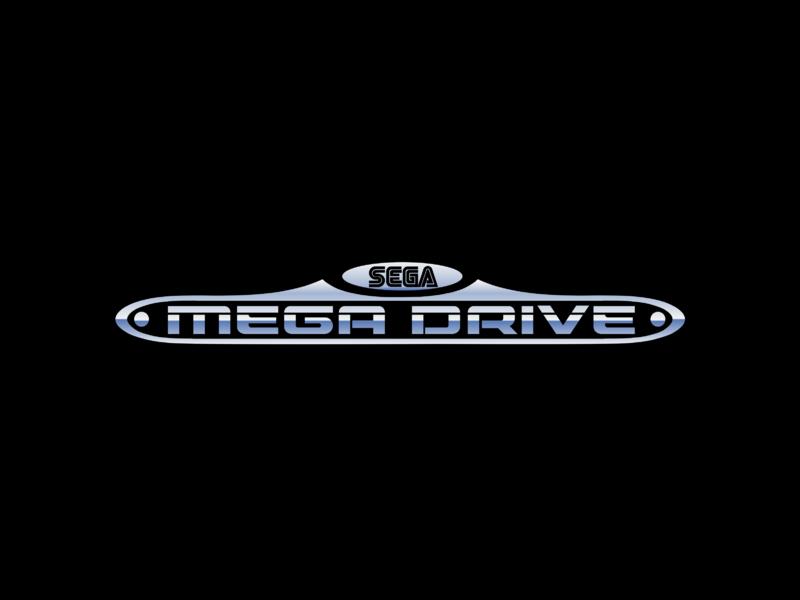 Sega Mega Drive Logo Png Transparent Svg Vector Freebie Supply