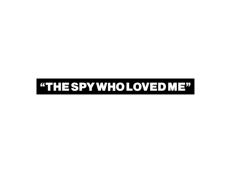 the spy who loved me logo png transparent svg vector freebie supply the spy who loved me logo png