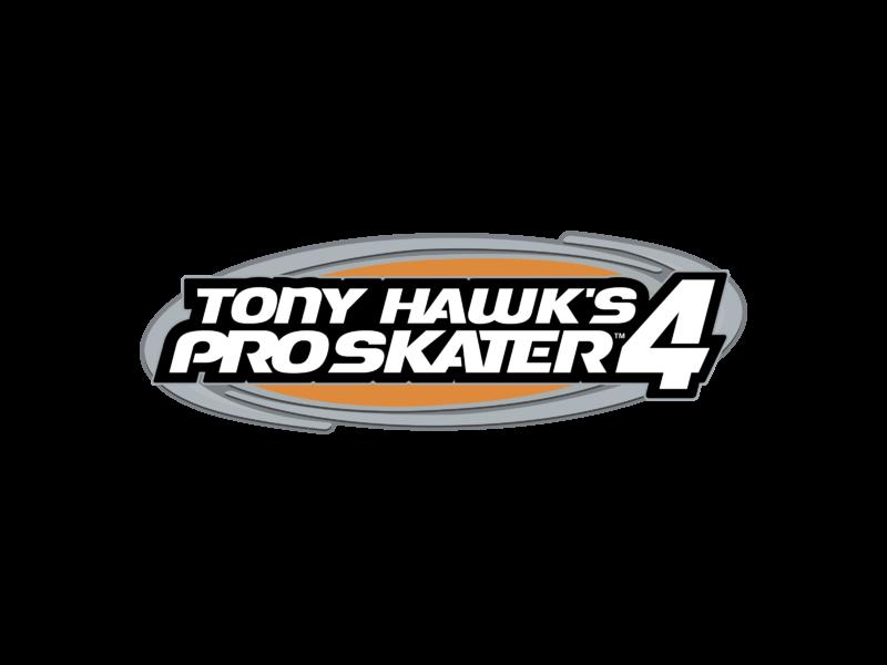 Tony Hawk Pro Skater 4 Logo Png Transparent Svg Vector Freebie Supply