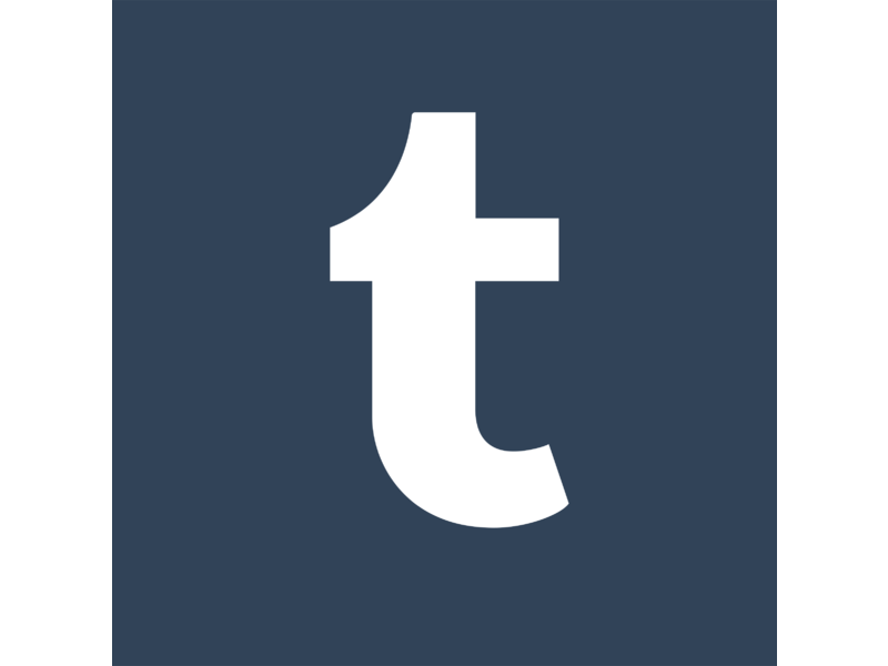 Tumblr Icon Logo PNG Transparent & SVG Vector