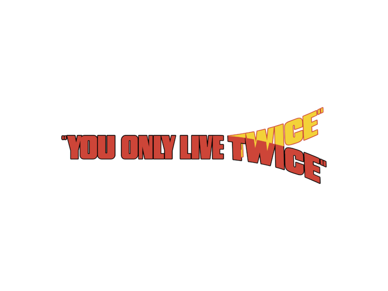 You Only Live Twice Logo Png Transparent Svg Vector Freebie Supply See more ideas about logo twice, twice, kpop logos. live twice logo png transparent