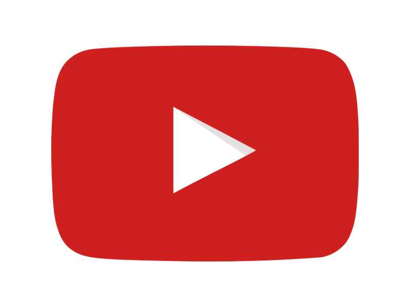 YouTube Icon Logo PNG Transparent & SVG Vector