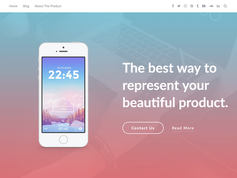 Apppage free business wordpress theme freebie supply apppage is clean and modern responsive app landing page template it is responsive html5css3 template based on hand made css it works nicely on all smart accmission Image collections