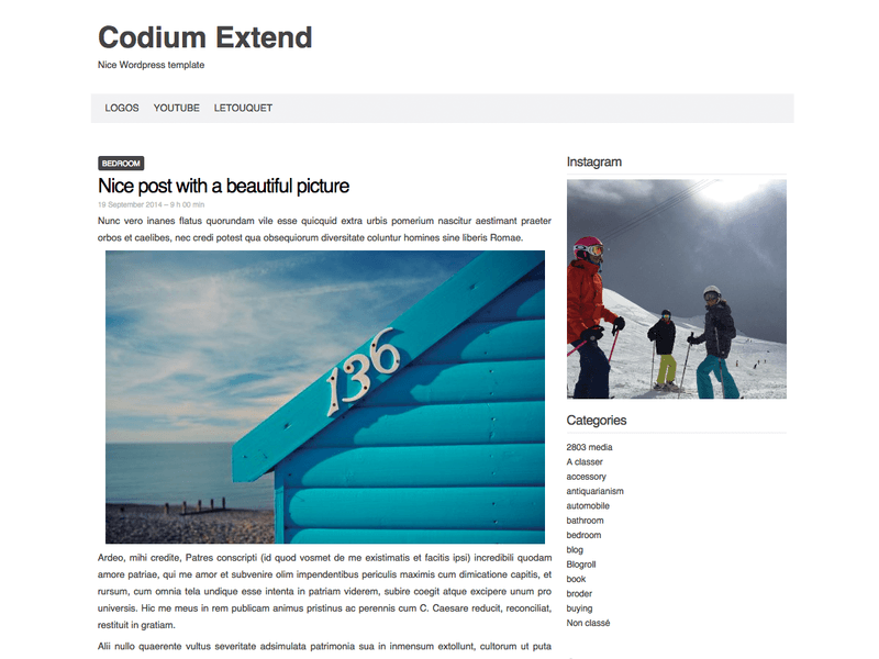 Codium Extend - Free Portfolio WordPress Theme - Freebie Supply