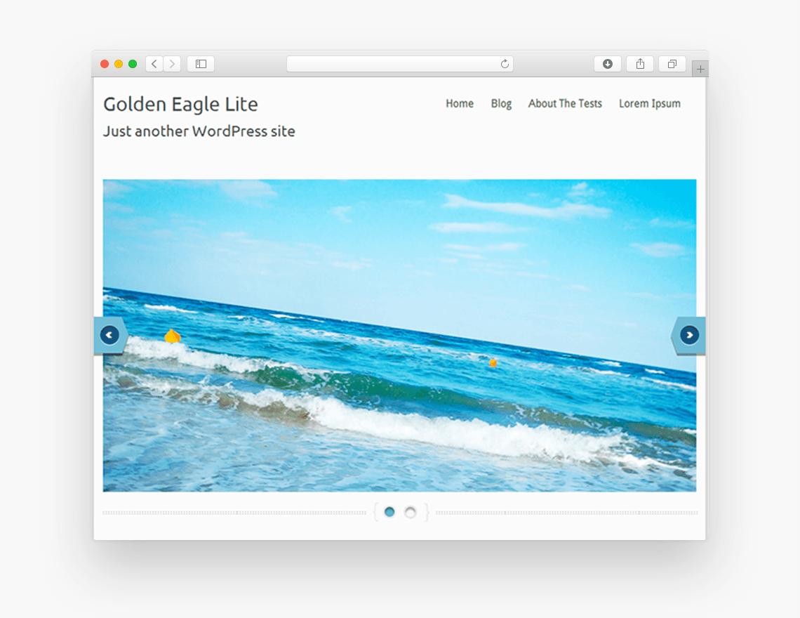 Golden Eagle Lite - Free Business WordPress Theme - Freebie Supply