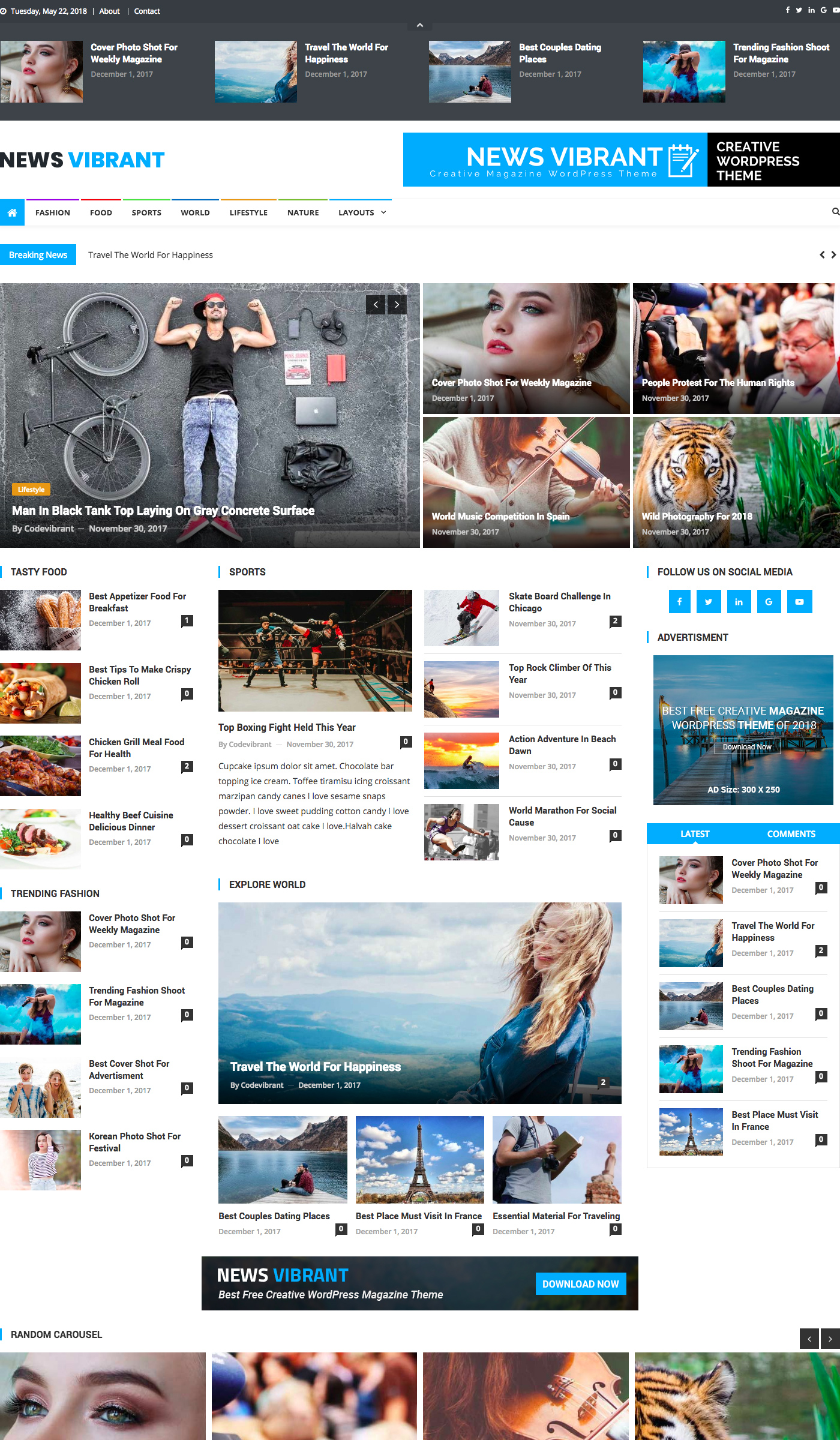 Free wordpress themes for dating sites