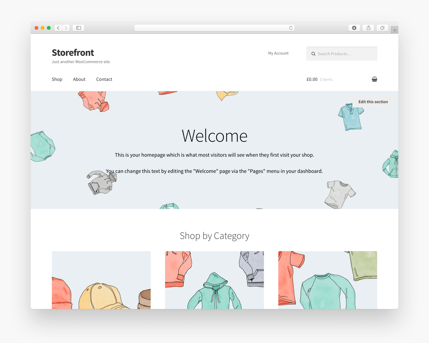 Storefront Free Ecommerce Wordpress Theme Freebie Supply