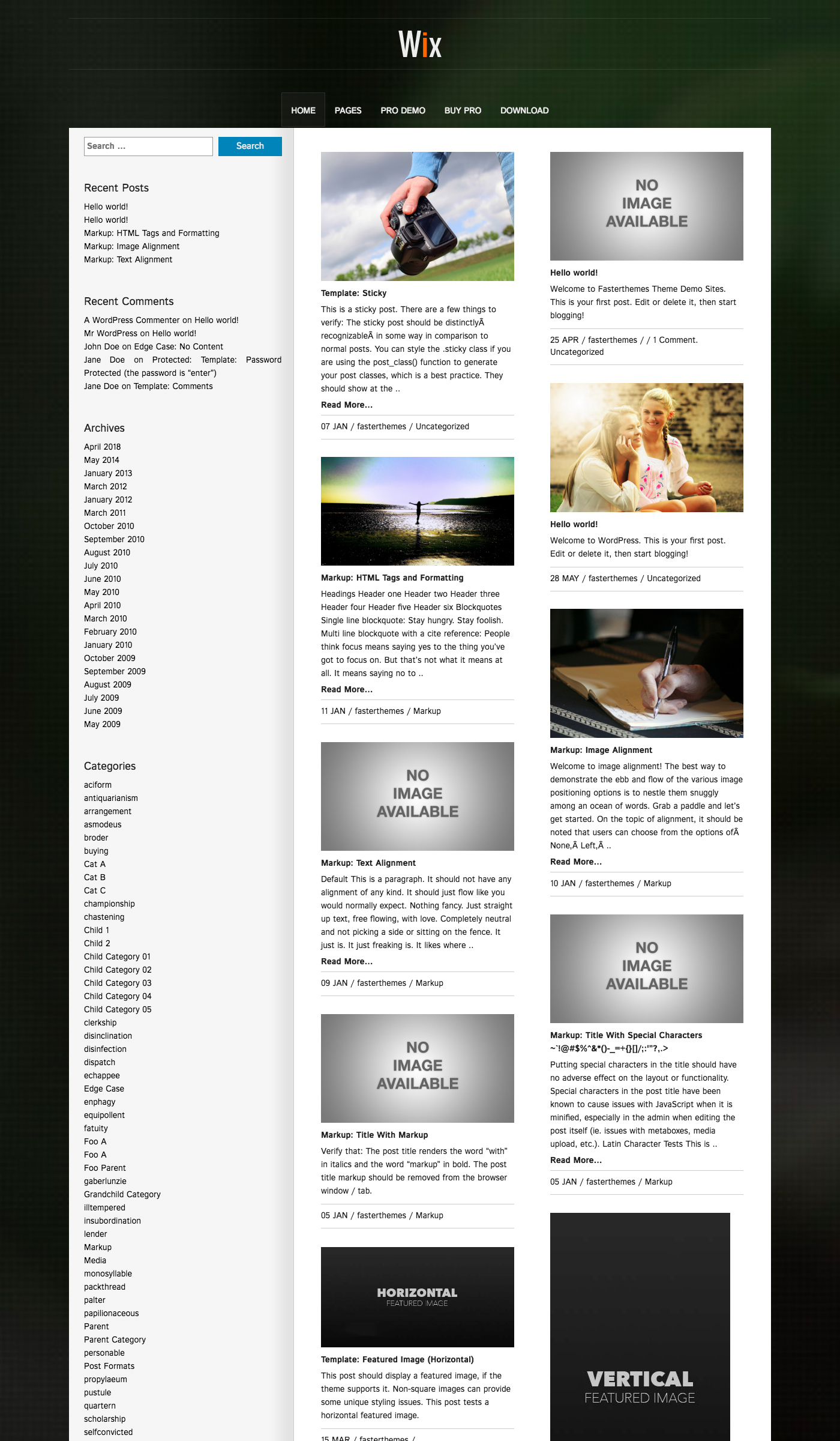 Wix free business wordpress theme freebie supply large preview accmission Choice Image